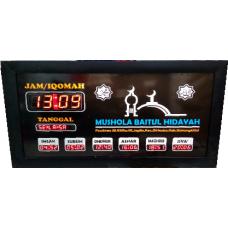Jam Sholat Digital JSD 01B 40x70 CM