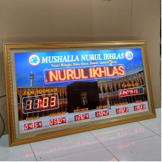 Jam Sholat Digital JSD 02RT 60x110 CM
